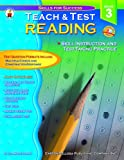 img - for Teach & Test Reading Grade 3 book / textbook / text book