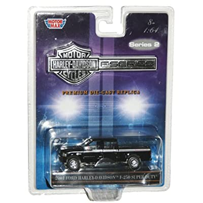 : 2004 Ford Harley-Davidson F250 Super Duty Truck Scale 1:64 Die-Cast