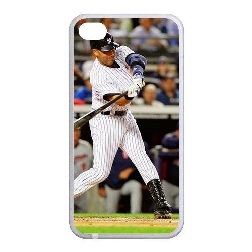 Derek Jeter Diy Iphone 4/4S Hard Case,Customized Case Un012839 front-73369