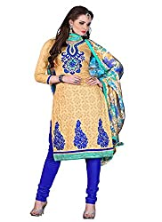 Aaliya Blue colored dress material