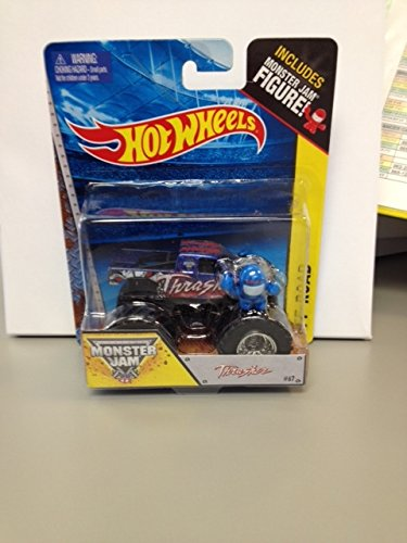 Monster jam hot wheels Thrasher #67 includes monster jam figure