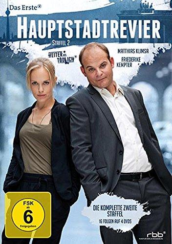 Heiter bis tödlich: Hauptstadtrevier - Staffel 2 (4 DVDs)