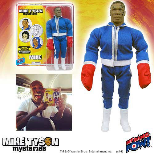 Mike Tyson Mysteries Mike Tyson with Boxing Gloves 8-Inch Action Figure - Convention Exclusive