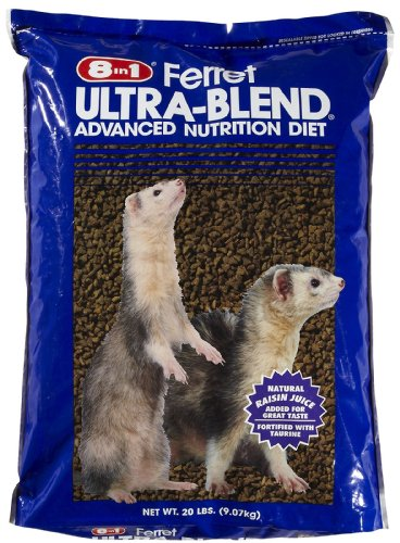 8 In 1 Pet Products SEOH413 Ultra Blend Ferret Diet, 20-Pound