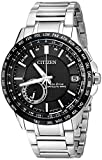 Citizen Men's CC3005-85E Satellite Wave Analog Display Japanese Quartz Silver Watch