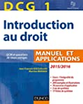 DCG 1 - Introduction au droit 2015/20...