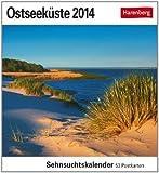 Ostseeküste 2014: Sehnsuchts-Kalender. 53 heraustrennbare Farbpostkarten