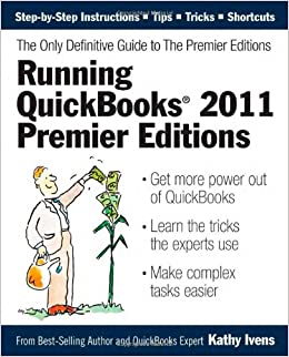 Running Quickbooks 2011 Premier Editions The Only
