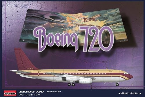 "Maquette Boeing 720 Starship One ""Music Series"""