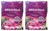 2 x 20 Litre Bags Of Ericaceous Garden Compost For Rhododendrons Azaleas Conifer