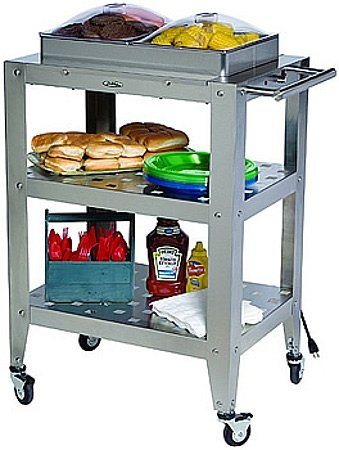 Cheap Double Buffet Warming Cart with Clear Lids – WBC2SP (B008N7WGQS)