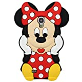 Pretty Mickey bow mouse silicone phone case rubber back cover for Samsung S4 I9500