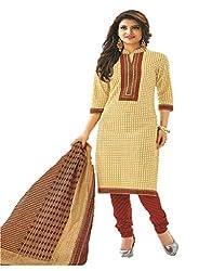 Design Willa Classic Cotton Dress Material (DW084)