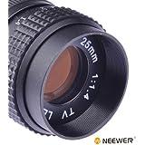 25mm f/1.4 C Mount CCTV Lens for Sony NEX-3 NEX-5 C-NEX & Canon, Nikon, Olympus EP-1, E-P2, E-PL1, Panasonic G, GH, GF C-M4/3