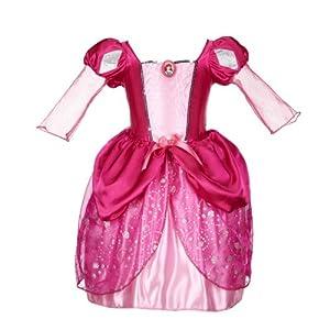 Disney Princess Ariel Pink Bling Ball Dress