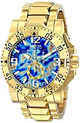 Invicta Men's 15977 Excursion Analog Display Swiss Quartz Gold Watch