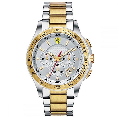Reloj Ferrari de Hombre. Modelo 0830051. Coleccion SCUDERIA. Esfera redonda de