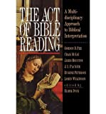 The Act of Bible Reading (Paperback) - Common