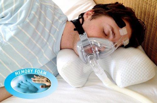 CPAP Sleep Apnea Memory Foam Pillow LARGE by Putnams