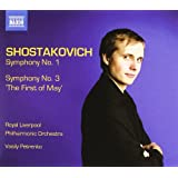 Shostakovich: Symphonies Nos. 1, & 3- The First of May
