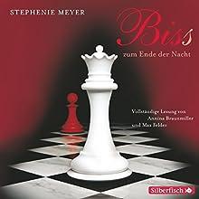 Bis(s) zum Ende der Nacht (Twilight-Saga 4) Hörbuch von Stephenie Meyer Gesprochen von: Annina Braunmiller-Jest, Max Felder