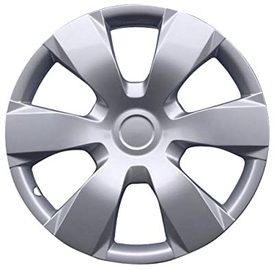 """Drive Accessories KT-1000-16S/L, Toyota Camry, 16"""" Silver Replica Wheel Cover, (Set of 4)"""