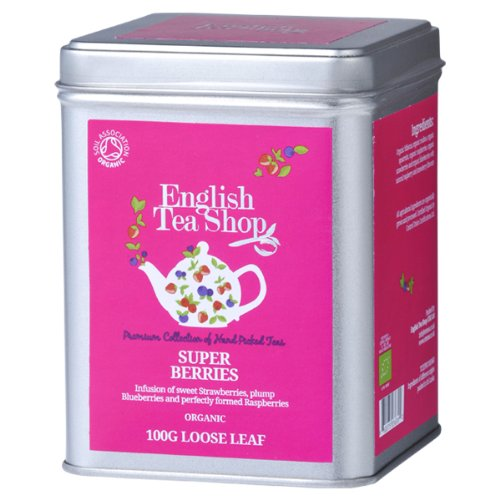 English Tea Shop Super Berries Organic Loose Tea 100 G