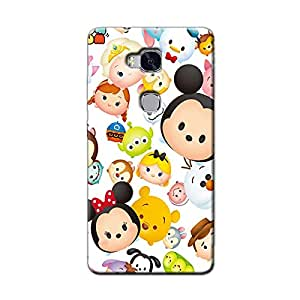 CARTOON BACK COVER HONOR 5C