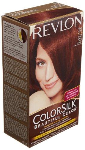 dark auburn hair color Revlon Colorsilk Haircolor, Dark Auburn, 4.40 Total Ounces (Pack of 3)