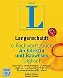 Langenscheidt e-Fachw�rterbuch Architektur und Bauwesen Englisch