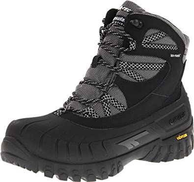 Hi-Tec Men's Ozark 200 I WP Snow Boot,Black/Dark Grey,8 M US