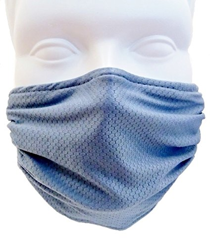Breathe Healthy Honeycomb Steel Blue Mask - Washable Dust/Allergy Mask, Flu Mask (Air Purifying Mask compare prices)