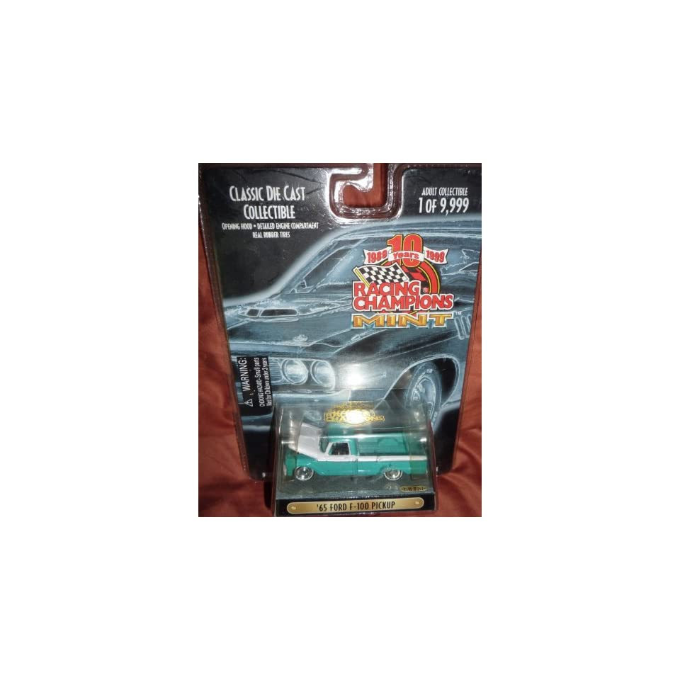 Racing Champions Mint Motor Trend 65 Ford F 100 Pick Up Issue #232