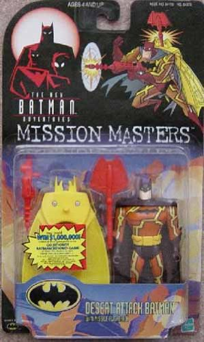 Buy Low Price Kenner Batman (Desert Attack) from Batman – Mission Masters Series 1 Action Figure (B0013OZPCK)