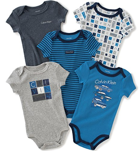 calvin-klein-baby-boys-assorted-short-sleeve-bodysuit-navy-gray-3-6-months-pack-of-5