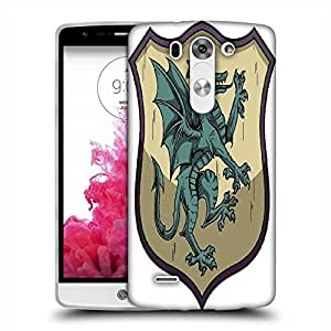 Snoogg crests vector element Designer Protective Back Case Cover For LG G3 BEAT STYLUS