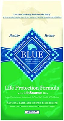 Blue Buffalo Dry Dog Food, Lamb and Rice Recipe, 30-Pound Bag by Blue Buffalo