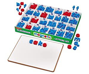 Amazoncom best buy magnetic letters office products for Buy magnetic alphabet letters