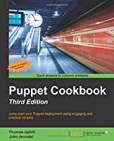 Puppet Cookbook, 3rd Edition Front Cover