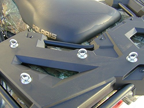 4-Pack-Lock-Ride-Lock-and-Ride-Cargo-Expansion-Anchor-Tie-Downs-for-Polaris-Sportsman-RZR-ACE-ATVs-Low-Profile