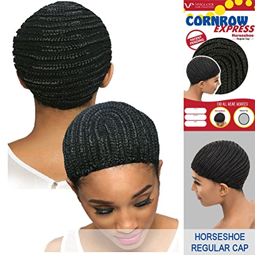 Vivica-A-Fox-CORNROW-EXPRESS-CAP-Horseshoe-Mesh-Weave-Cap