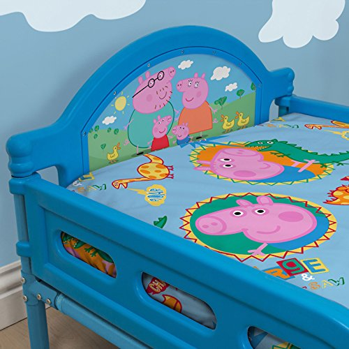 Peppa Pig George Lit enfant junior + matelas en mousse de luxe