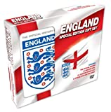 Official History of England Gift Set (Includes Region 2 UK DVD, Pin Badge, St Georges Flag)