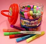 Glitter Glue Pens- Bonus Bucket Set o...
