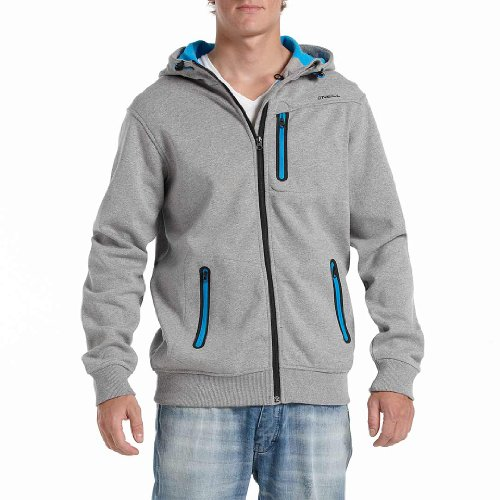 O'Neill No Comply Men's Superfleece Sweatshirt Silver Melee X-Small