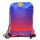 Barcelona FC Football Team Fade Drawstring Swimming Kit Gym Bag