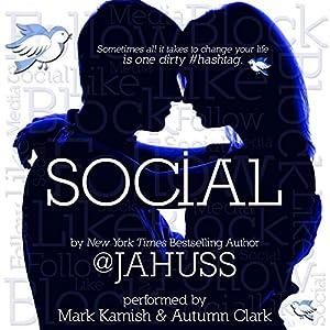 Social: The Social Media Series, Books 1-3 Audiobook