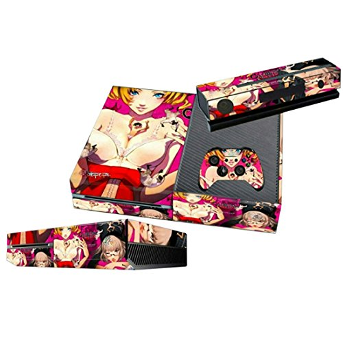 Mod Freakz Xbox One Console Vinyl Skin and Controller Skin Anime Sexy Girl Vixen (Xbox One Console Mods compare prices)