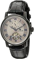 Thomas Earnshaw Men's ES-8042-06 Westminster - Midnight Analog Display Automatic Self Wind Black Watch