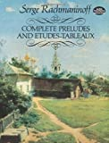 img - for Complete Preludes and Etudes-Tableaux (Dover Music for Piano) book / textbook / text book